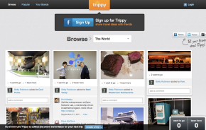 Trippy Homepage