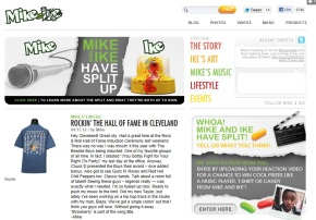 Mike and Ike SPlit Tumblr Bryan Nagy