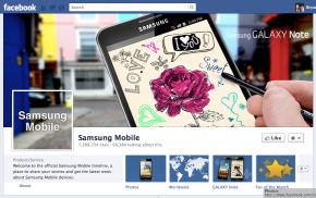 Samsung Facebook Timeline Profile