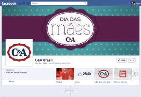 C&A Brasil Facebook Like Campaign Bryan Nagy social media