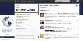 Twitter #corporategreed