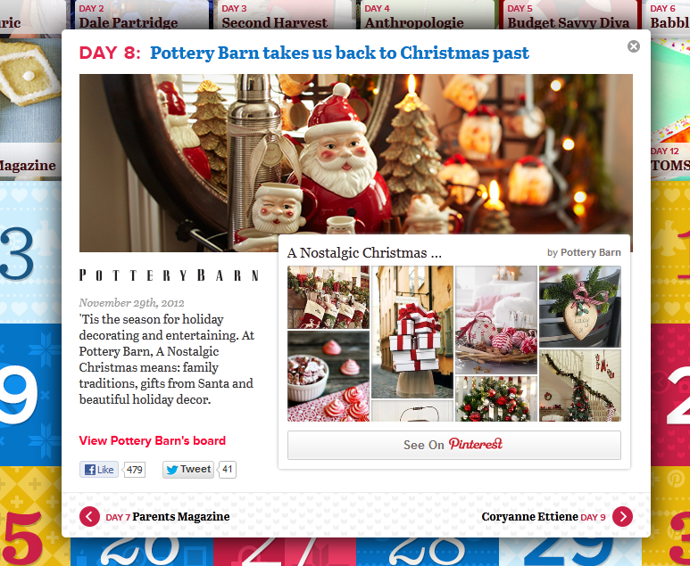 Bryan Nagy 30 days of Pinterspiration Pottery Barn Brands on Pinterest