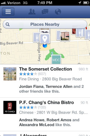 Facebook Nearby Update December Places Bryan Nagy
