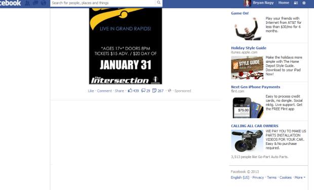 Bryan Nagy Facebook Best Buy advertising