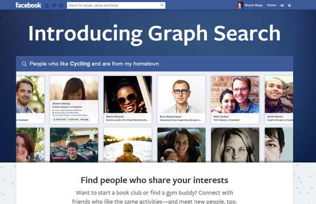 Facebook graph search bryan nagy