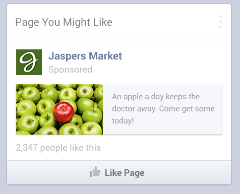 Mobile Ads, courtesy Facebook