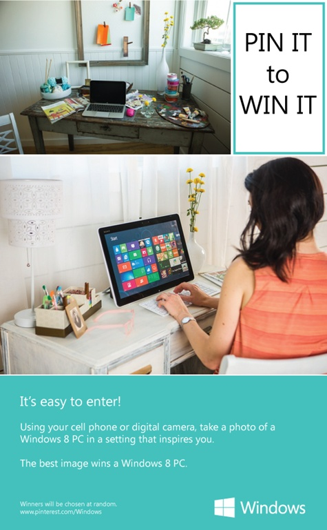 Windows Pinterest Contest Bryan Nagy