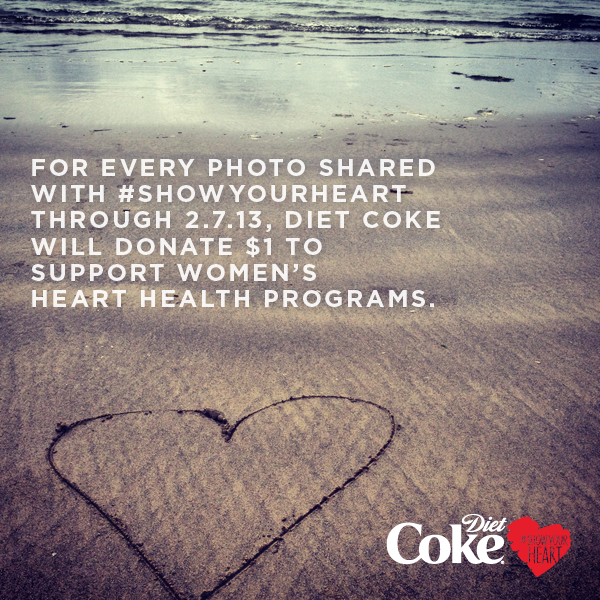 Coca-Cola will donate $1 for every photo shared.