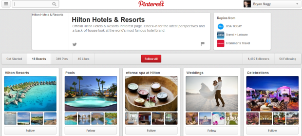 Hilton Hotels on Pinterest Bryan Nagy