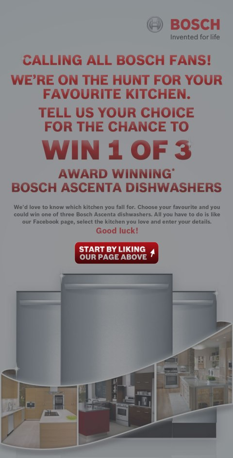 Bosch Facebook Campaign Bryan Nagy