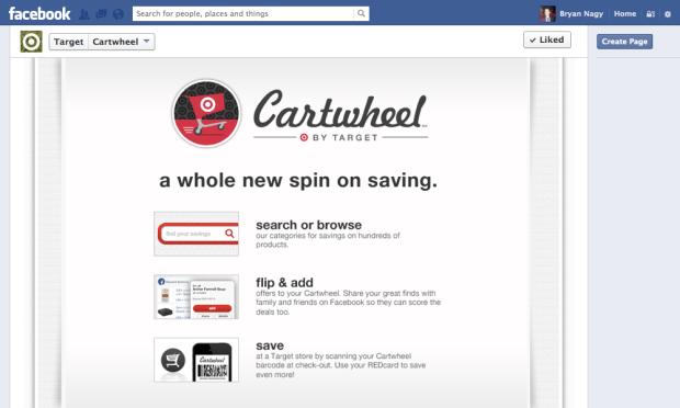 Target cartwheel app bryan nagy