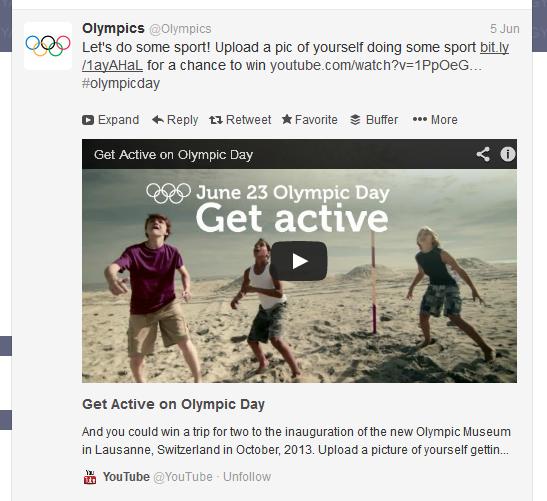 Olympics Twitter Bryan Nagy