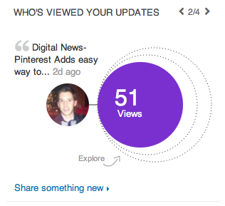linkedin updated analytics