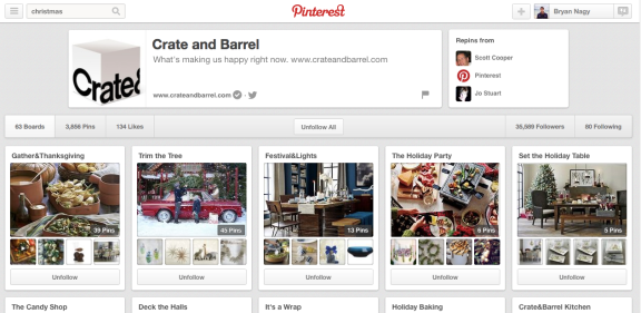 Holiday Marketing on Pinterest